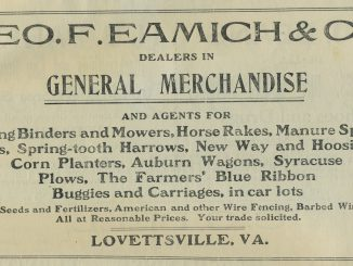 Agricultural Log Lovettsville ADs_Eamich