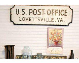 Virginia, Lovettsville, Museum, town memorabilia, artifacts,