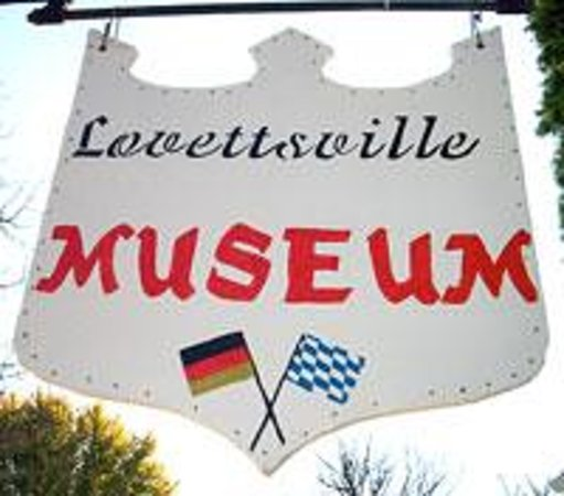 Lovettsville Museum Sign