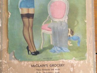 McClain Grocery Calendar