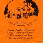 1994 Lovettsville Oktoberfest Poster