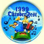 1999 Lovettsville Oktoberfest Button