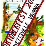2004 Lovettsville Oktoberfest Booklet Cover by Walt Barth