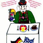 2007 Lovettsville Oktoberfest Booklet Cover by M Lopresti