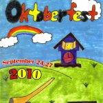 2010 Lovettsville Oktoberfest Booklet Cover by Erin Stitt