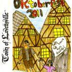 2011 Lovettsville Oktoberfest Booklet Cover