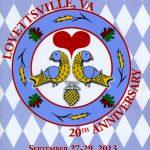 2013 Lovettsville Oktoberfest Booklet Cover_20th Anniversary