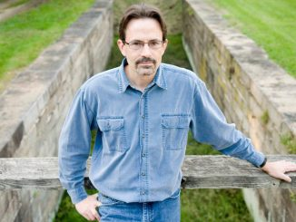 Staff photo by Graham Cullen Author Tim Snyder, shown here at Lander Lock, near Point of Rocks, wrote a book about the role of the C&O Canal during the Civil War.