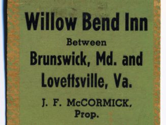 Willow Bend Inn-Matchbook