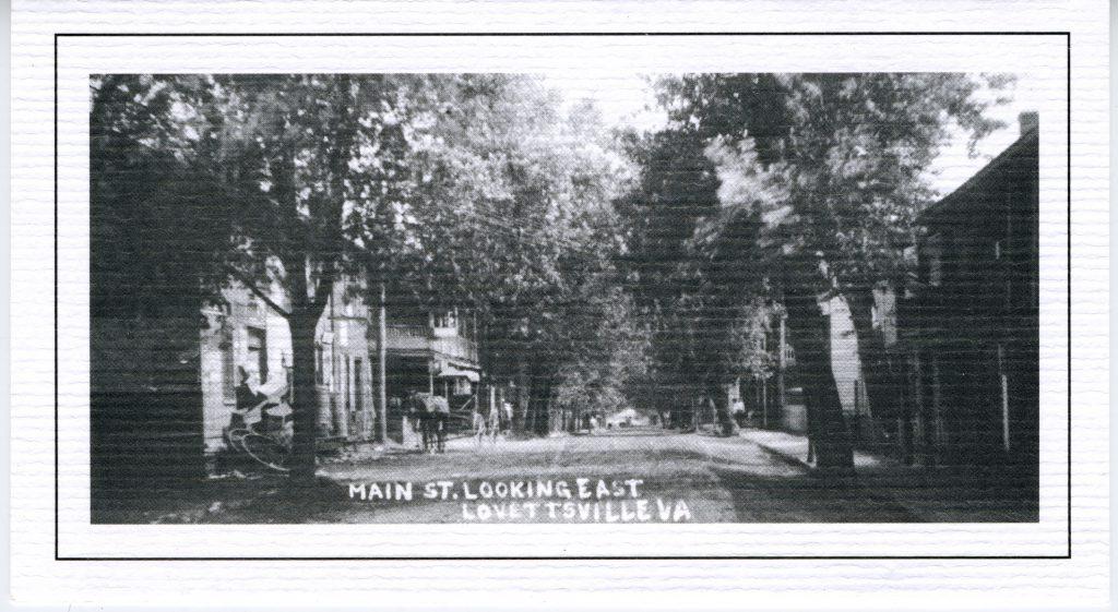 1900 circa Lovettsville Main Street Looking East copy 2