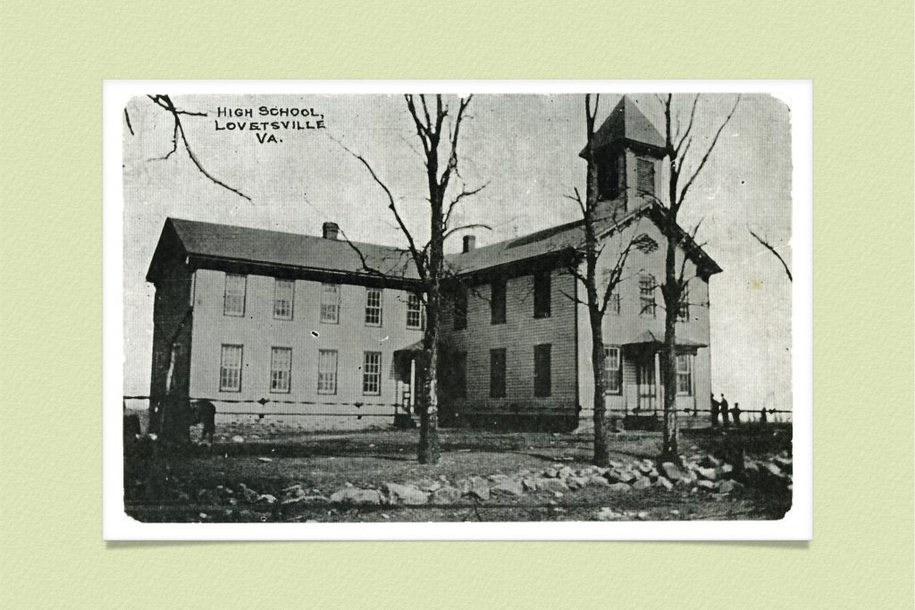 1900s Lovettsville High School