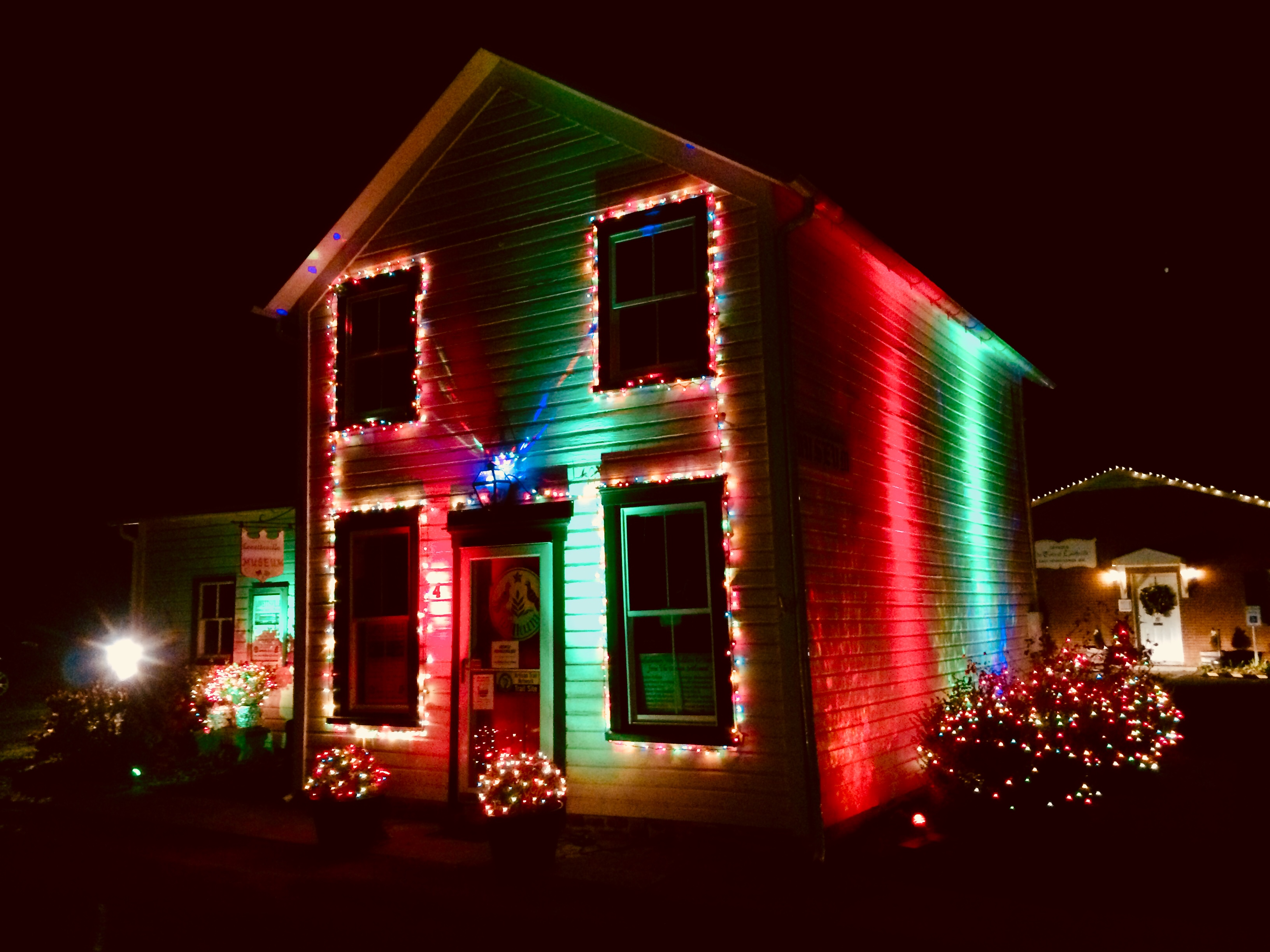 2017 Lovettsville Museum Illuminated at Christmas