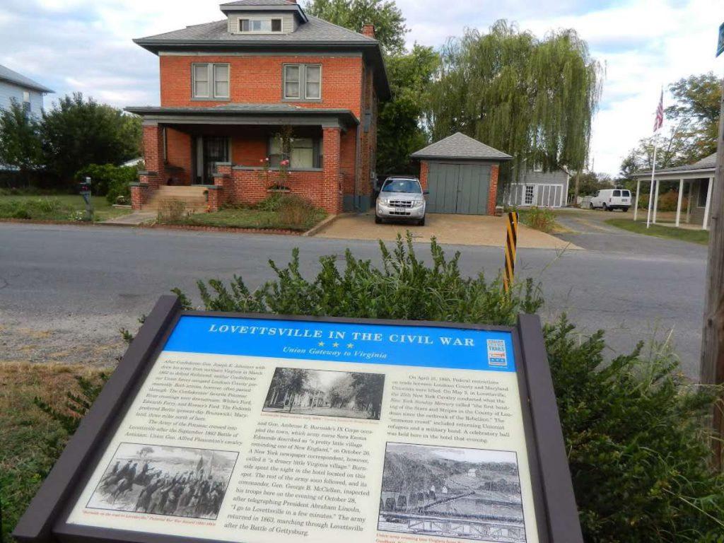 Historic Marker_Lovettsville in the CIvil War