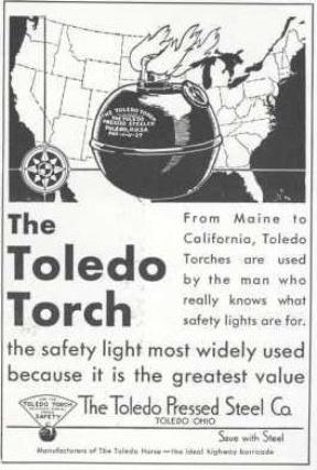 Toledo Torch Ad