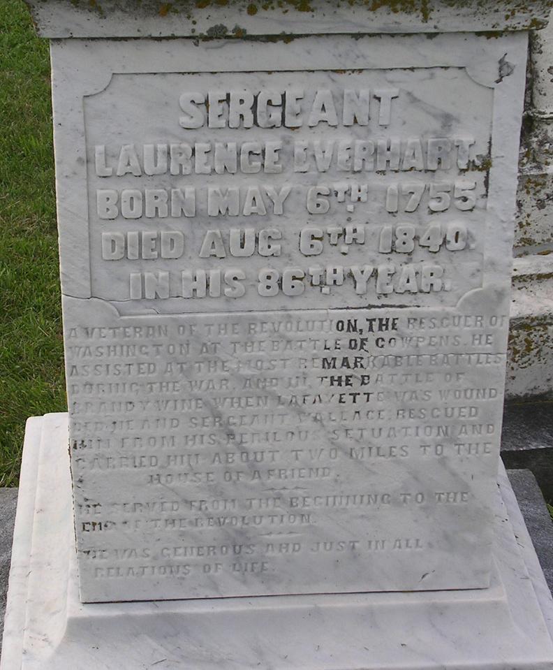 Laurence Everhart Gravestone