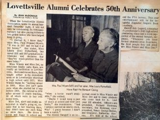 1967 Lovettsville Alumni Association_Times Mirror