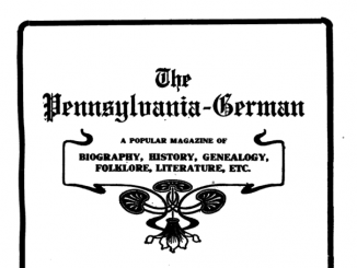 The Pennsylvania German 1908