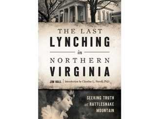 Last Lynching In Northern Virginia Bookcover_wide