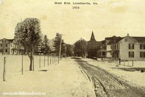 1915 West End Lovettsville Postcard watermarked