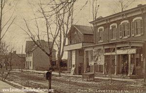 1917 10x6 Lovettsville Main Street Postcard_Watermarked