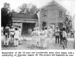 1975 Lovettsville Project photo