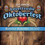 2015 Lovettsville Oktoberfest Booklet Cover