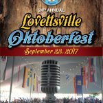 2017 Lovettsville Oktoberfest Booklet Cover
