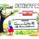 Lovettsville Oktoberfest Art Poster by Walt Barth_2
