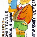 Lovettsville Oktoberfest Art Poster by Walt Barth_3
