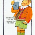 Lovettsville Oktoberfest Art Poster by Walt Barth_4