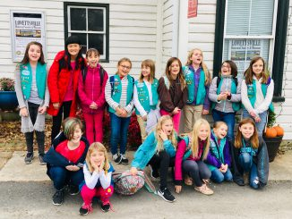 2018 Girl Scout Troop 70074 Tour_group photo