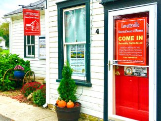 2018 Lovettsville Museum front door IMG_0272