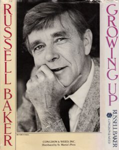 Russell Baker book cover resized
