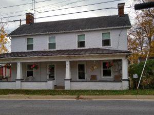 """Bailey house"" on East Broad Way"