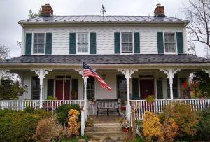 """Fowler House"" on Lovettsville Road. Photo: Ed Spannaus"