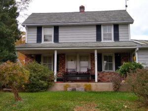 """Harding house"" on Mountain Road"