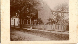 Luther & Kate Potterfield's home on Main Street, c. 1890.