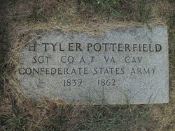 William H.T. Potterfield cenotaph at German Reformed Cemetery