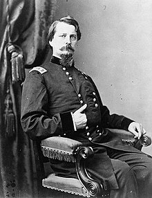 Maj.Gen. Winfield Scott Hancock, Commander of Military Middle Division in1865