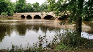 The Monocacy Aquaduct on the C&O Canal, Frederick County MD