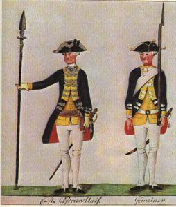 Hessian soldiers (Wiki Commons)