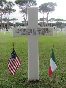 Photo courtesy of Veronica Stasio, Sicily -Rome American Cemetery and Memorial, Nettuno, Italy