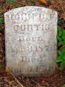 MtS John B F Curtis w death date