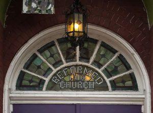Brunswick Ref Ch transom window