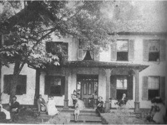 Linden Hall. c. 1880