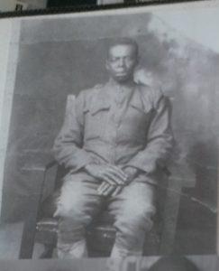 Carl Anderso;n in WWI uniform