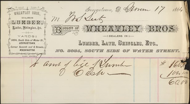 All images of bills and receipts are from the Library of Virginia's online chancery file