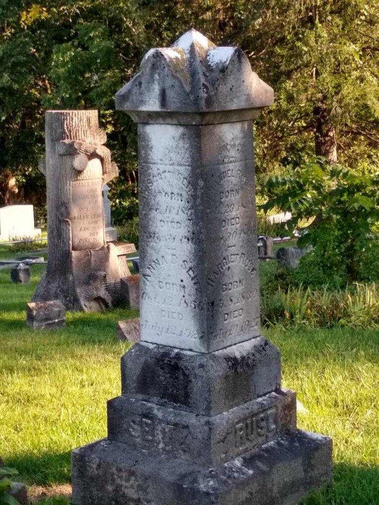 Seitz Ruse monument full