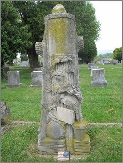 Beavers grave markers. Photos by dickbelle via Find-a-Grave