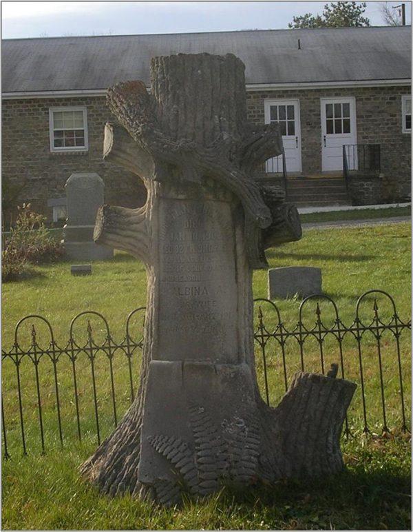 treestone nicewarner monument